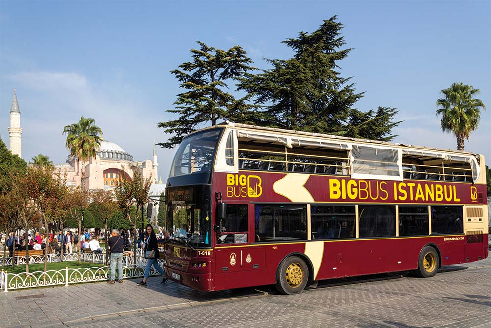 HOP ON HOP OFF CITY SIGHTSEEING BUS 45€/PP